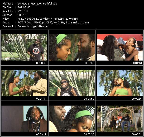 Morgan Heritage video - Faithful