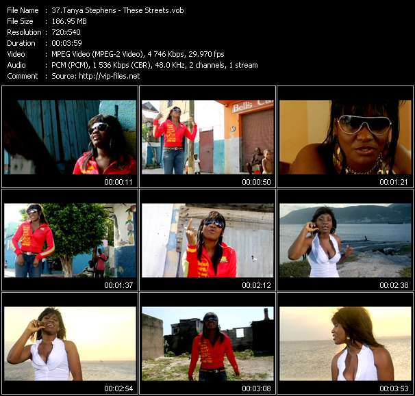 Tanya Stephens video - These Streets