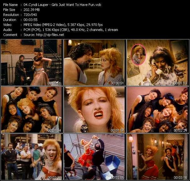 Cyndi Lauper HQ Videoclip «Girls Just Want To Have Fun»