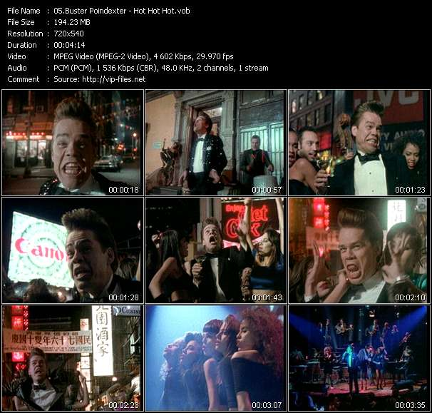 Buster Poindexter HQ Videoclip «Hot Hot Hot»