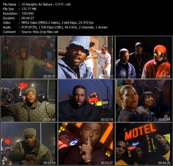Naughty By Nature HQ Videoclip «O.P.P.»