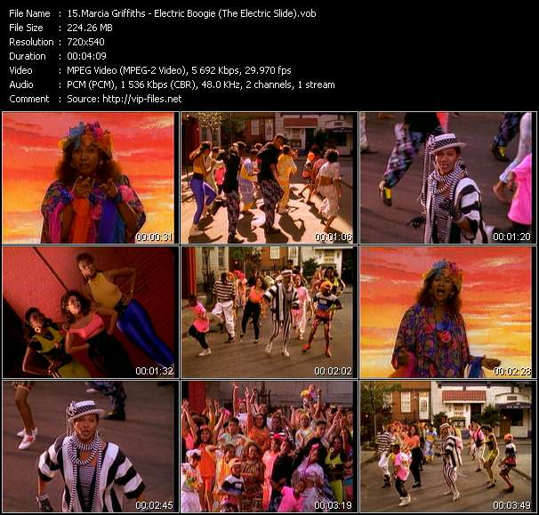 Marcia Griffiths HQ Videoclip «Electric Boogie (The Electric Slide)»