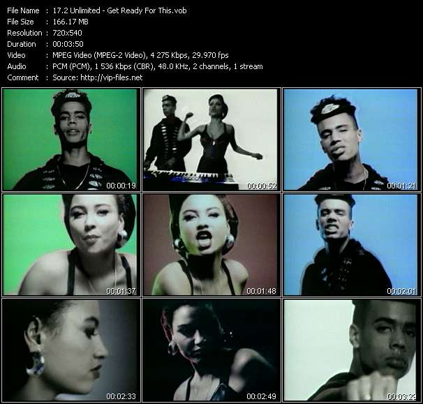 2 Unlimited HQ Videoclip «Get Ready For This»