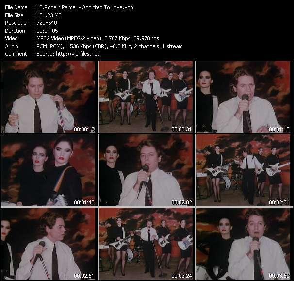 Robert Palmer HQ Videoclip «Addicted To Love»