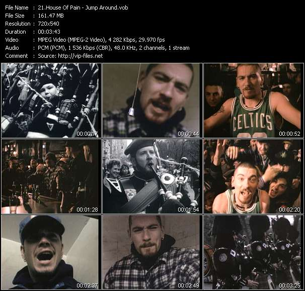 House Of Pain HQ Videoclip «Jump Around»