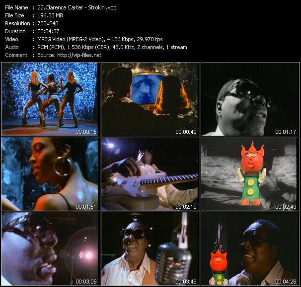 Clarence Carter HQ Videoclip «Strokin'»