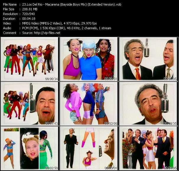 Los Del Rio HQ Videoclip «Macarena (Bayside Boys Mix) (Extended Version)»