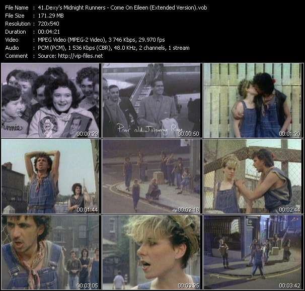 Dexy's Midnight Runners HQ Videoclip «Come On Eileen (Extended Version)»