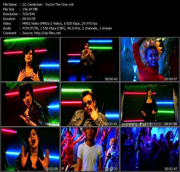 Candyman HQ Videoclip «You're The One»