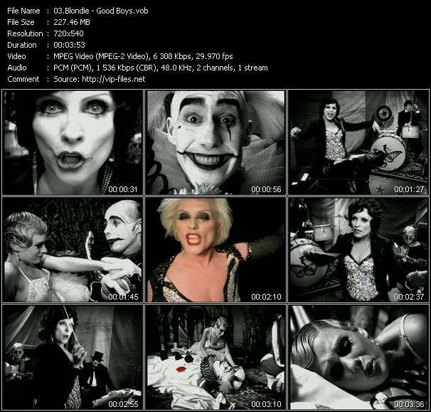 Blondie HQ Videoclip «Good Boys»
