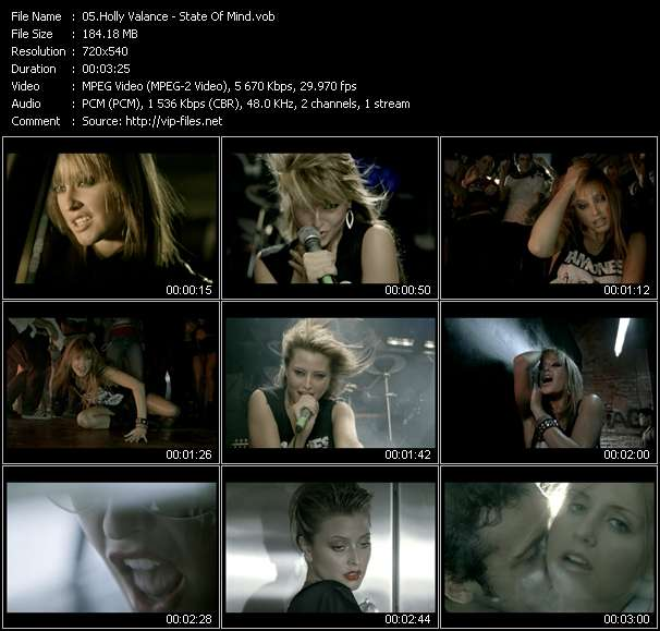 Holly Valance HQ Videoclip «State Of Mind»