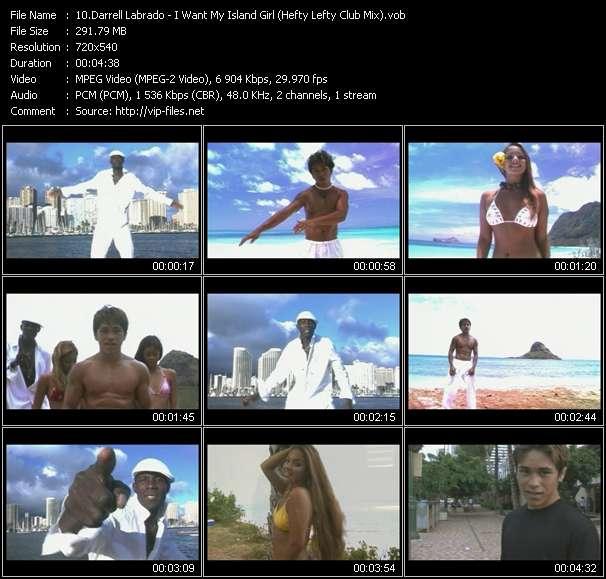 Darrell Labrado HQ Videoclip «I Want My Island Girl (Hefty Lefty Club Mix)»