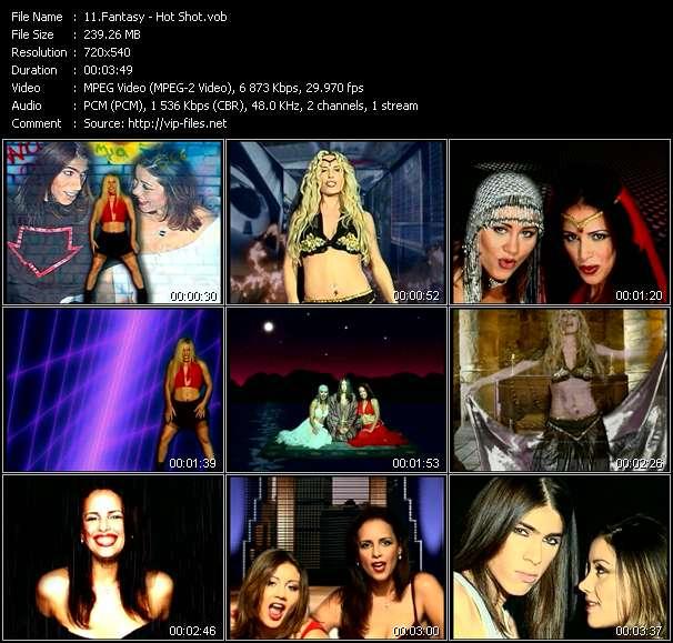 Fantasy HQ Videoclip «Hot Shot»