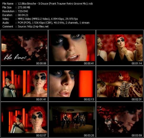 Biba Binoche HQ Videoclip «Si Douce (Frank Trauner Retro Groove Mix)»