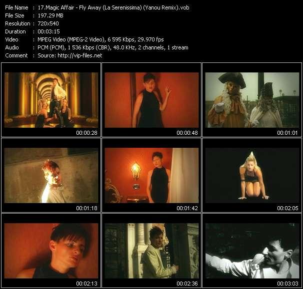 Magic Affair video - Fly Away (La Serenissima) (Yanou Remix)