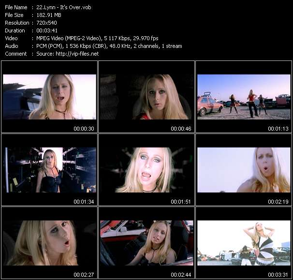 Lynn video - It's Over