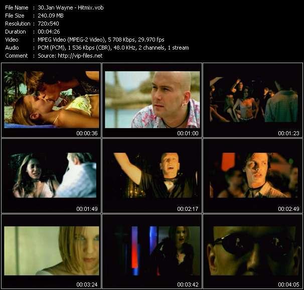 Jan Wayne HQ Videoclip «Hitmix»