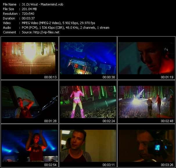 Dj Wout HQ Videoclip «Mastermind»