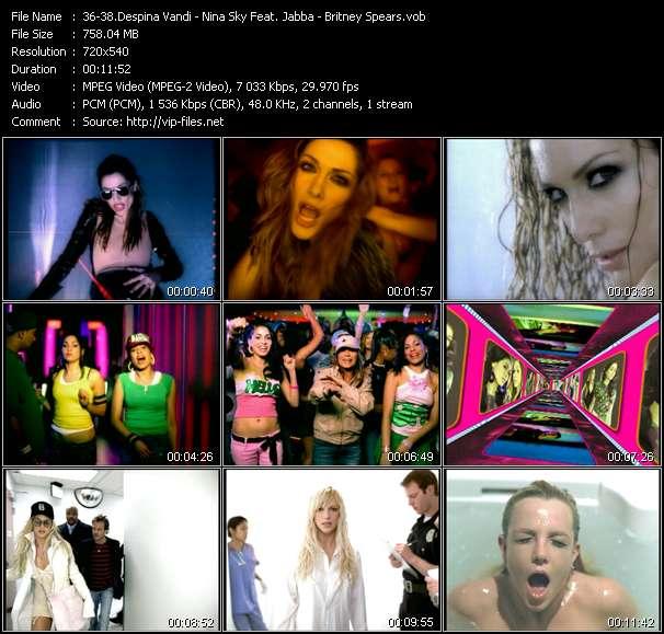 Despina Vandi - Nina Sky Feat. Jabba - Britney Spears HQ Videoclip «Opa Opa - Move Ya Body (Norty Cotto Remix Edit) - Everytime (Dr. Octavo's Translucent Club Mixshow Edit)»