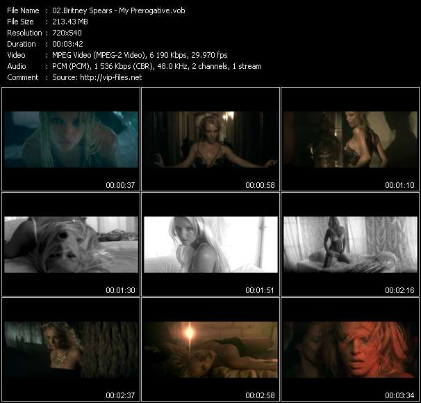 Britney Spears HQ Videoclip «My Prerogative»