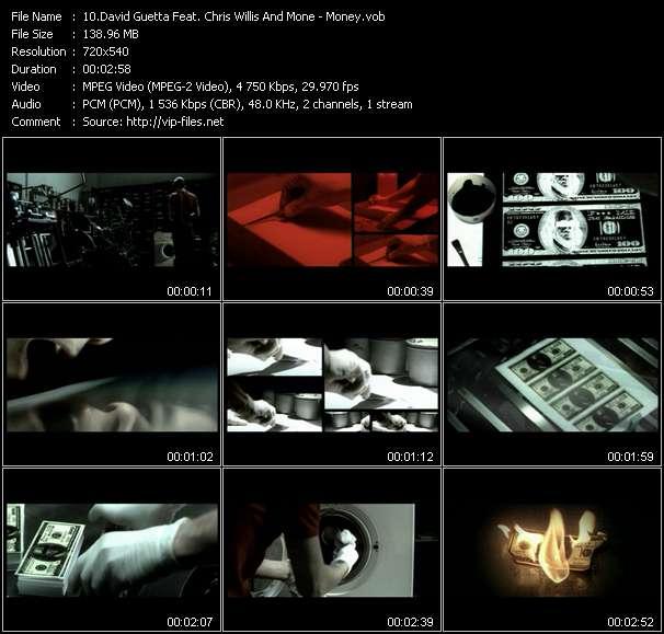 David Guetta Feat. Chris Willis And Mone video - Money