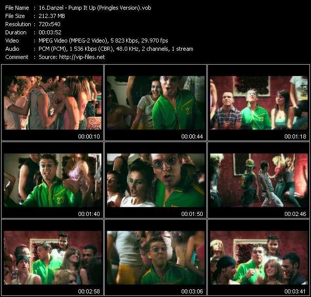Danzel video - Pump It Up (Pringles Version)