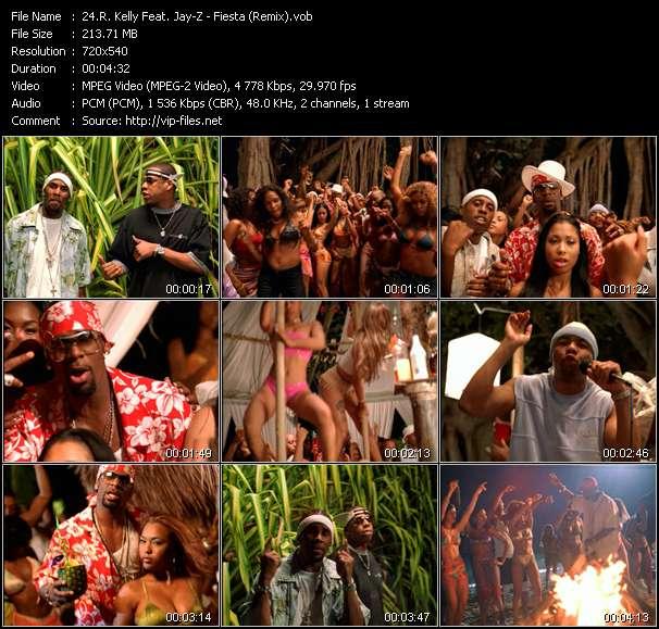 R. Kelly Feat. Jay-Z video - Fiesta (Remix)