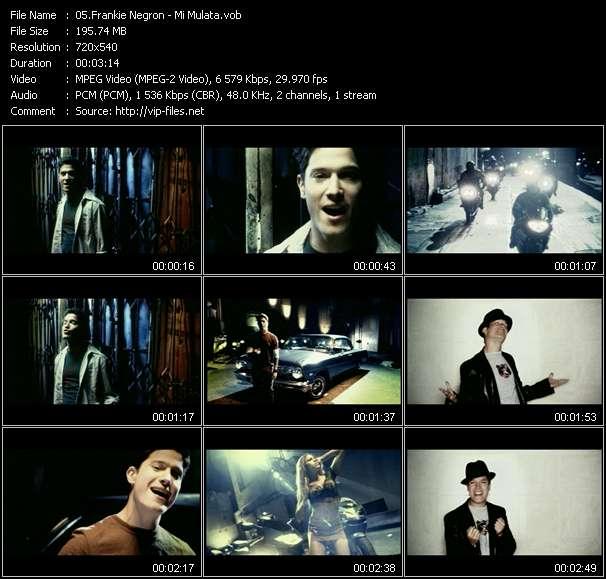 Frankie Negron HQ Videoclip «Mi Mulata»
