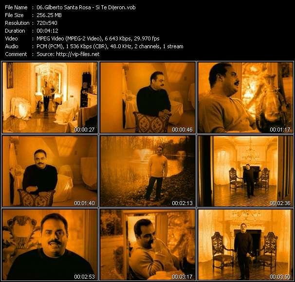 Gilberto Santa Rosa HQ Videoclip «Si Te Dijeron»