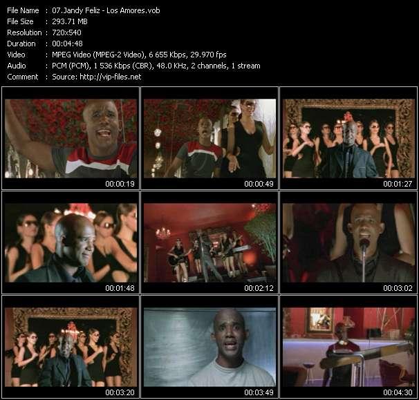 Jandy Feliz HQ Videoclip «Los Amores»