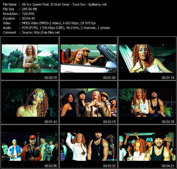 Ivy Queen Feat. El Gran Omar HQ Videoclip «Tuya Soy - Guillaera»