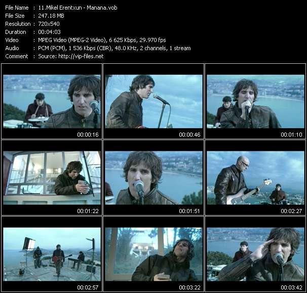Mikel Erentxun HQ Videoclip «Manana»