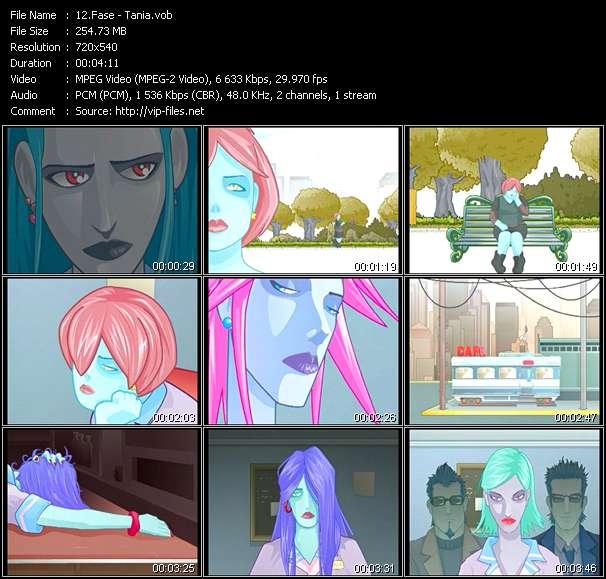 Fase HQ Videoclip «Tania»