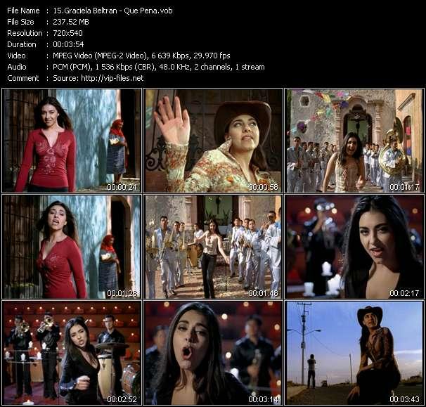 Graciela Beltran HQ Videoclip «Que Pena»