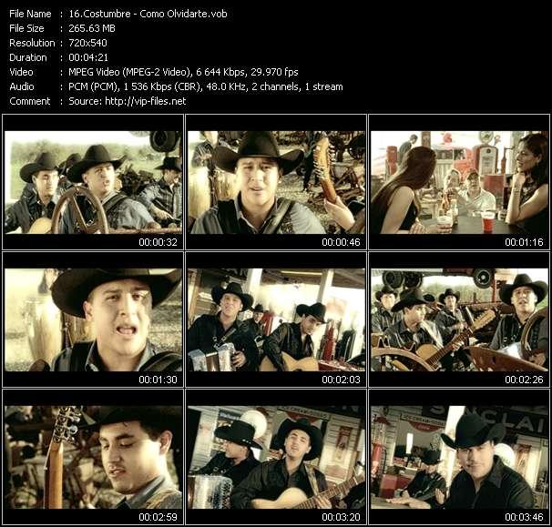 Costumbre HQ Videoclip «Como Olvidarte»