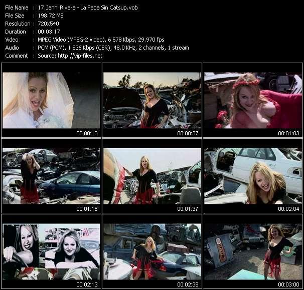 Jenni Rivera HQ Videoclip «La Papa Sin Catsup»