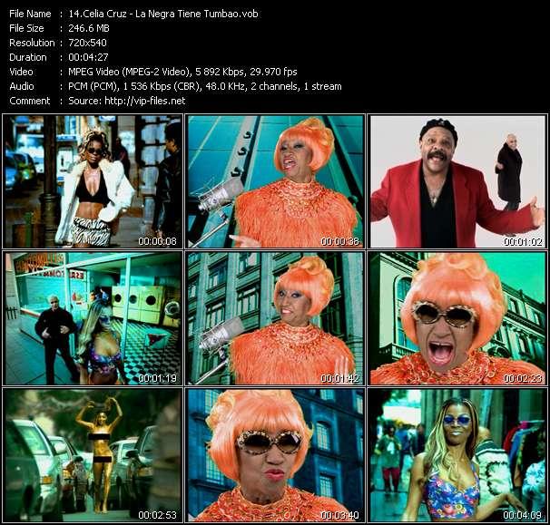 Celia Cruz video - La Negra Tiene Tumbao