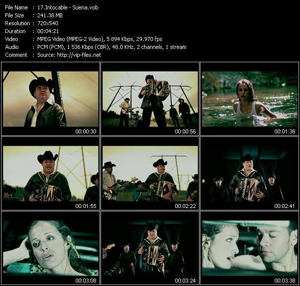 Intocable video - Suena