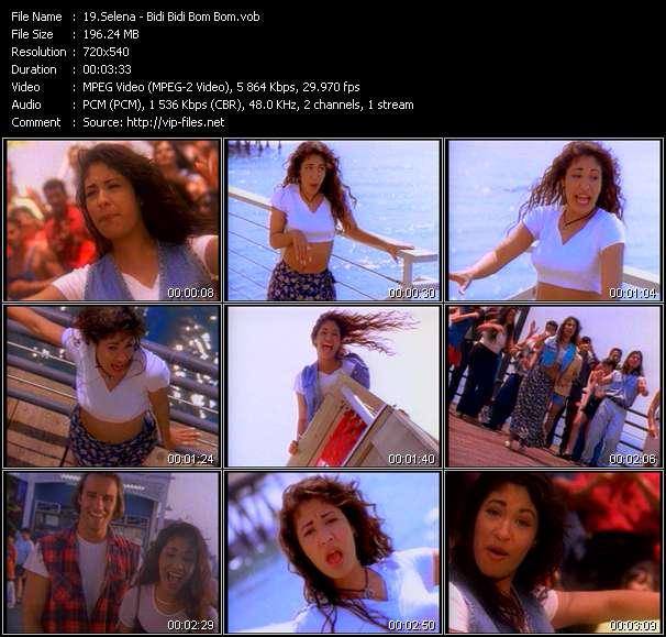 Selena video - Bidi Bidi Bom Bom