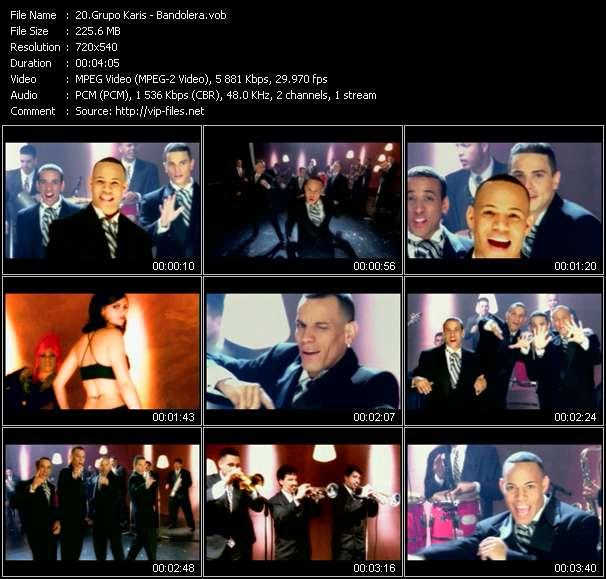 Grupo Karis video - Bandolera