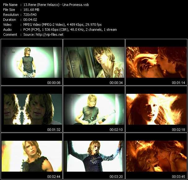 Rene (Rene Velazco) HQ Videoclip «Una Promesa»