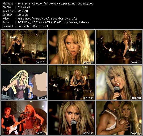 Shakira HQ Videoclip «Objection (Tango) (Eric Kupper 12 Inch Club Edit)»