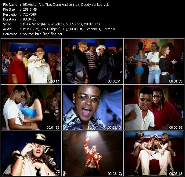 "Dj Nelson Presents Luny Tunes And Noriega Mas Flow: Hector And Tito, Zionn And Lennox, Daddy Yankee HQ Videoclip «Cae La Noche - Hay Algo En Ti - Cojela Que Va Sin Jockey (From ""Mas Flow"")»"