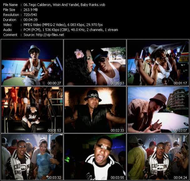 "Dj Nelson Presents Luny Tunes And Noriega Mas Flow: Tego Calderon, Wisin And Yandel, Baby Ranks HQ Videoclip «Metele Sazon - Aventura - Motivate Al Baile (From ""Mas Flow"")»"