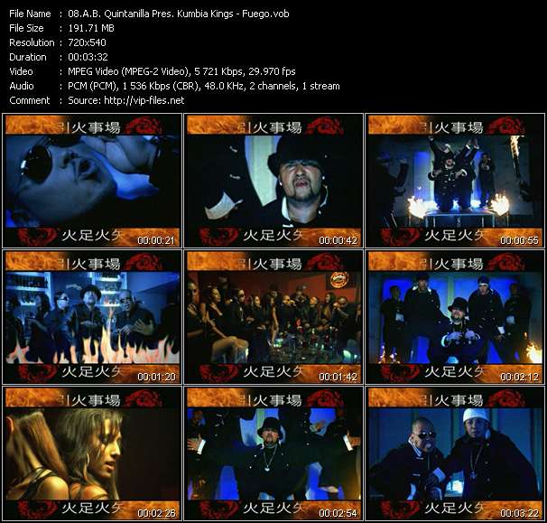 A.B. Quintanilla Pres. Kumbia Kings music video Florenfile