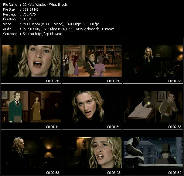 Kate Winslet video - What If