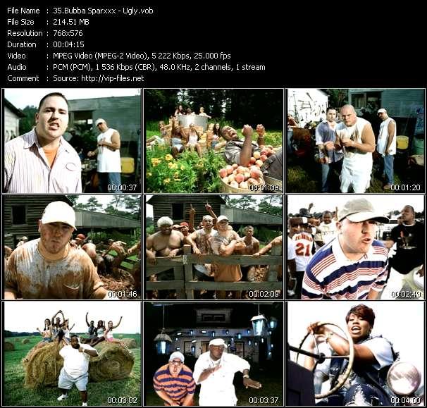 Bubba Sparxxx video - Ugly