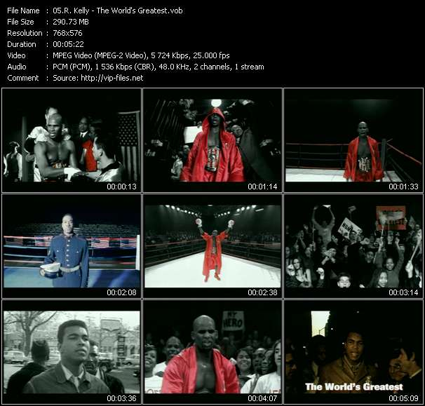R. Kelly video - The World's Greatest