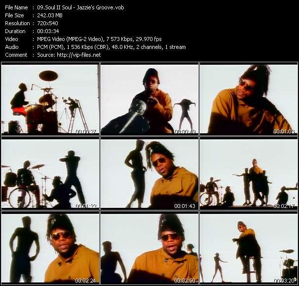 Soul II Soul HQ Videoclip «Jazzie's Groove»