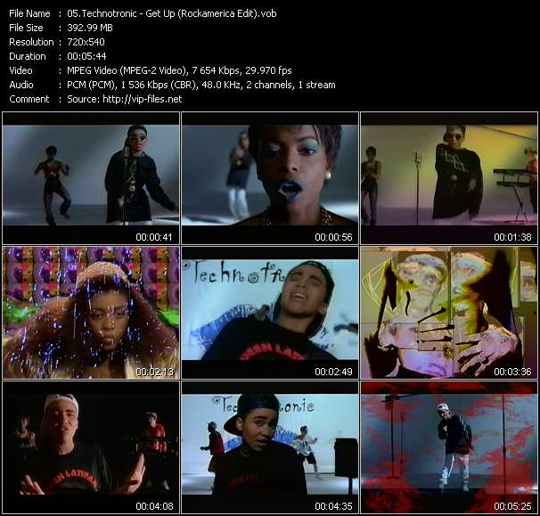 Technotronic HQ Videoclip «Get Up (Rockamerica Edit)»